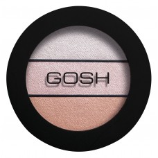 Gosh Eyelight Trio Eyeshadow Тени для век Three of a Kind 001