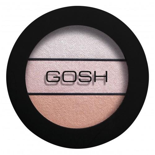 Gosh Eyelight Trio Eyeshadow Тени для век Three of a Kind 001