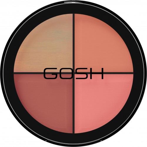 Gosh Strobe'n Glow Kit Палетка для контуринга 002 Blush