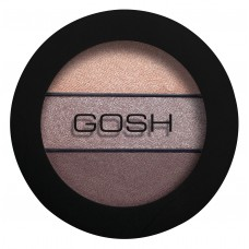 Gosh Eyelight Trio Eyeshadow Тени для век Chunky Chocolate 003