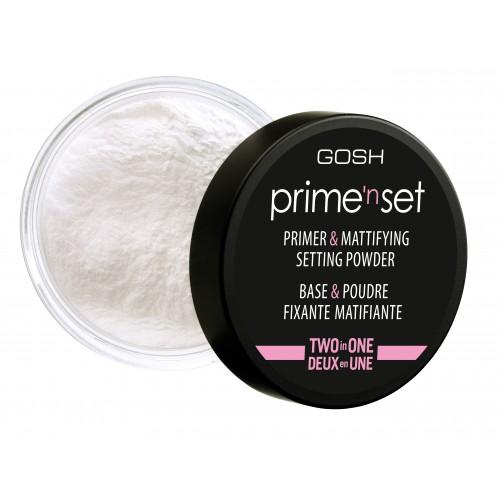 Gosh Prime'n Set Primer & Powder 2 in 2 Праймер для лица пудровый рассыпчатый