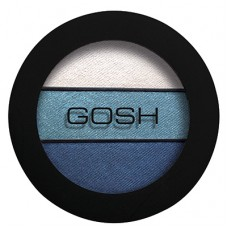 Gosh Eyelight Trio Eyeshadow Тени для век 004 Vanilla Sky
