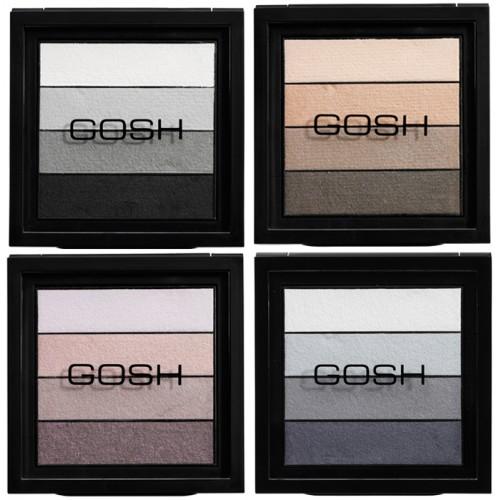 Gosh Smokey Eyes Palette Тени для век